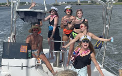 Bachelorette Party On The Water