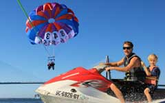 Ultimate Adventure Parasailing and Jetski Tour