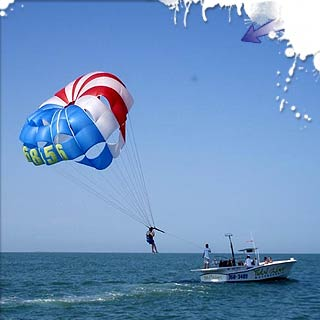 Come Fly With Us! Tandem Parasailing up to 800 ft of line!